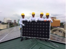 60KW on grid solar system for church in Manila, philippines
