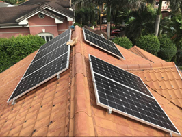 5kw Solar on grid system in Quezon City, Philippines